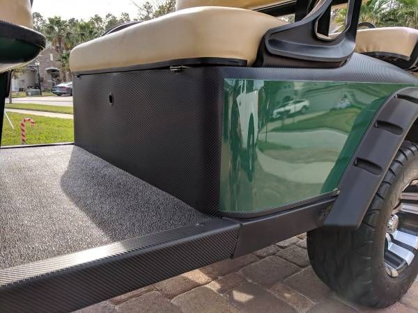 Golf Cart 6 Passenger Limo EZGO 48V Lifted - general for ...