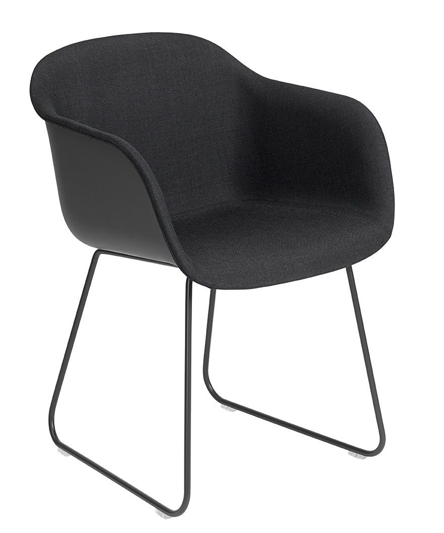 Muuto Fiber - Sled Base - Front Upholstery | mintroom.de #Muuto #mintroom #shop #stühle #plastic #holz #metall #chairs #alle