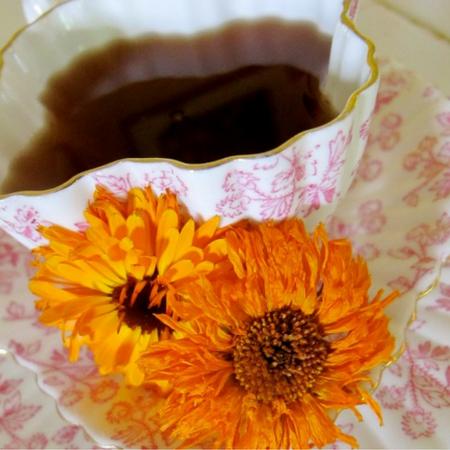 Calendula Tea Recipe Calendula tea, Calendula