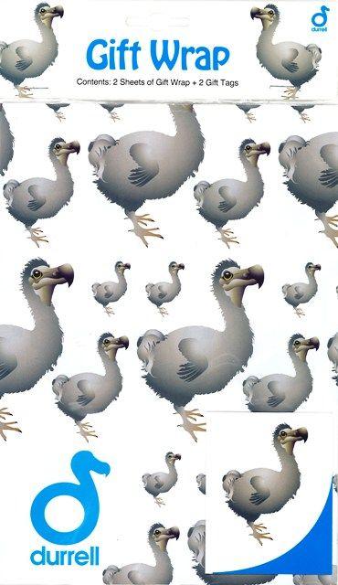 Dodo Gift Wrap | Durrell Wildlife Conservation Trust | Dodo ...