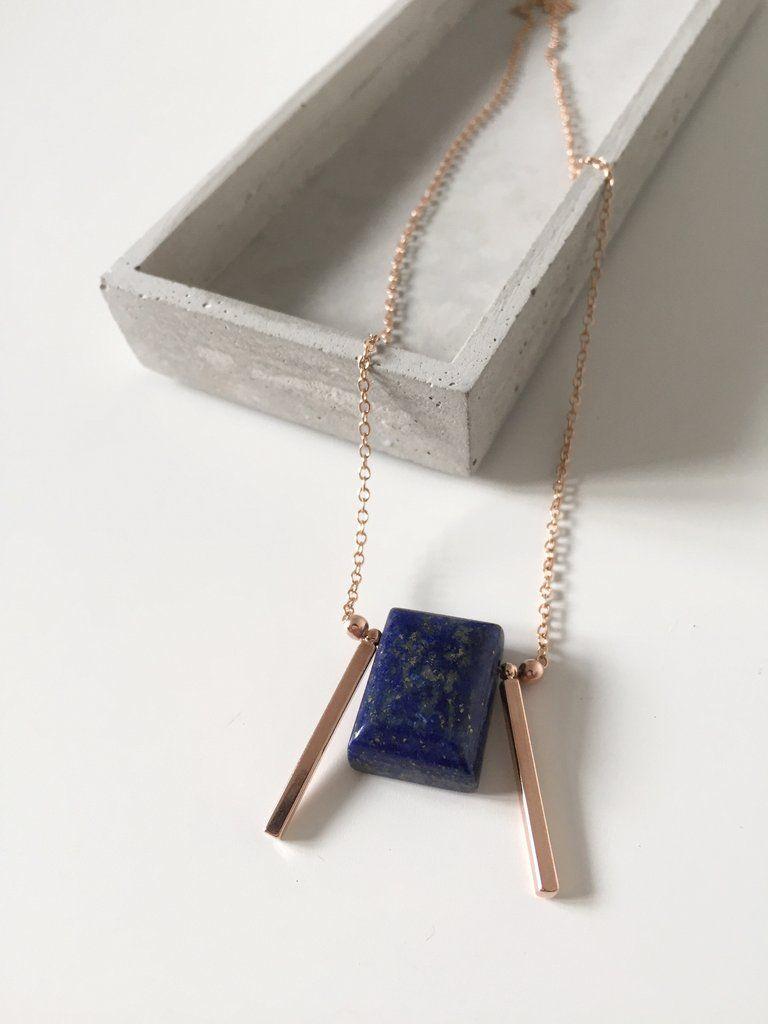 Angular Stone Slab Necklace – curious creatures