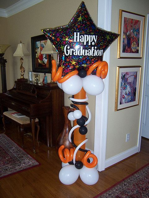 graduation1 | Graduation balloons, Graduation decorations ...
