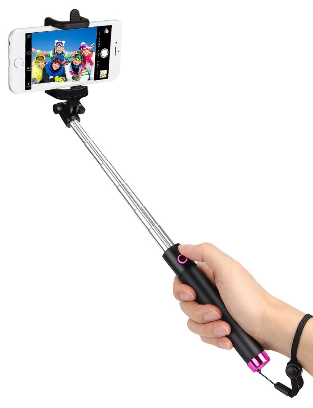 Remote Selfie Stick Bluetooth For Iphone 7 & 7 Plus