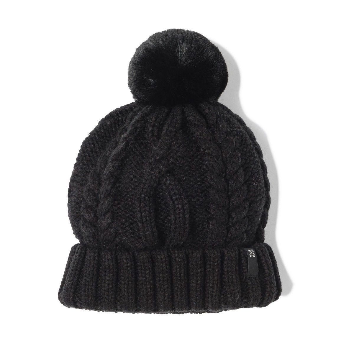 3bcecae65 Oxbow Indri Beanie - Black | Beanies | Beanie, Knitted hats, Beanie hats