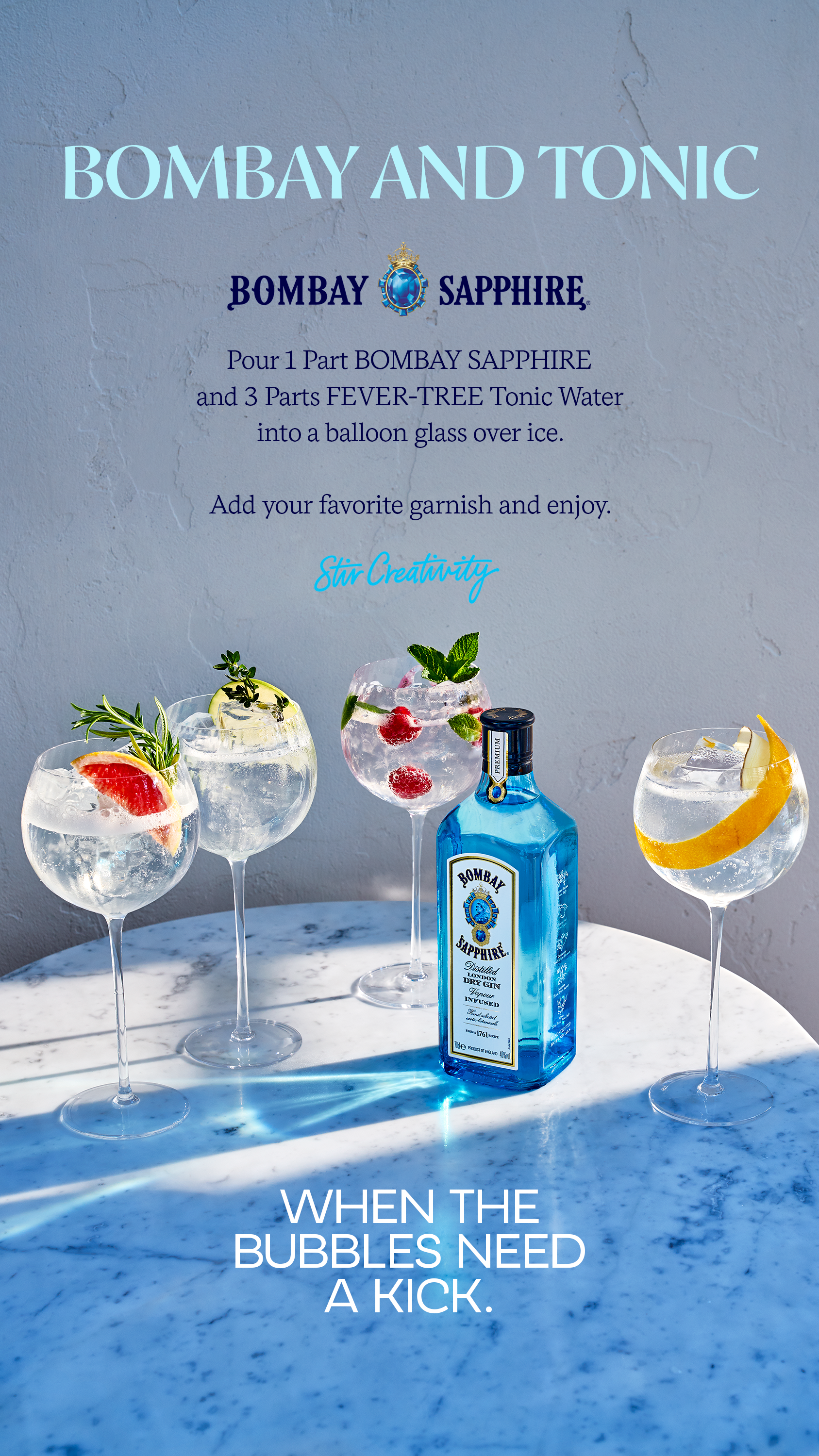 Bombay And Tonic Gin Drinks Cocktail Drinks Recipes Chill Drinks