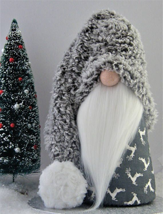 images of gnomes with santa hat on pinterest