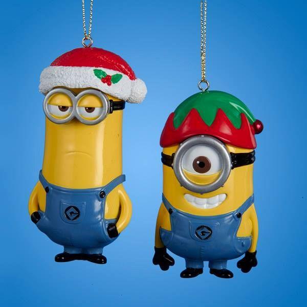 Minion Ornaments! Banannnnnaaaa!! :D | Christmas Ornaments ...