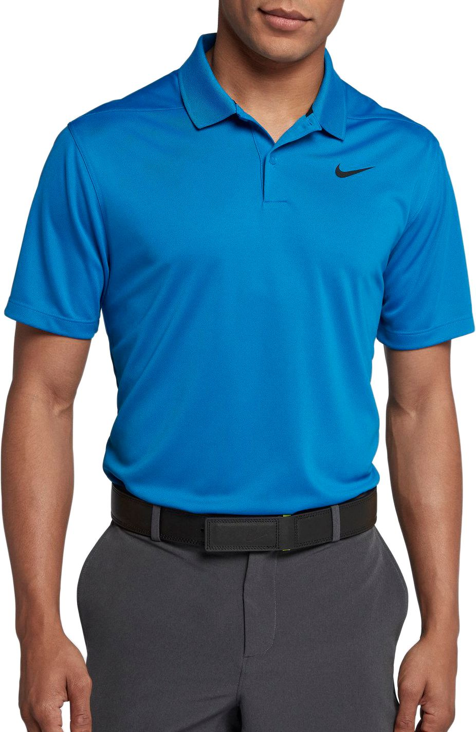 a217a8be Nike Men's Solid Dry Victory Golf Polo, Size: Small, White ...