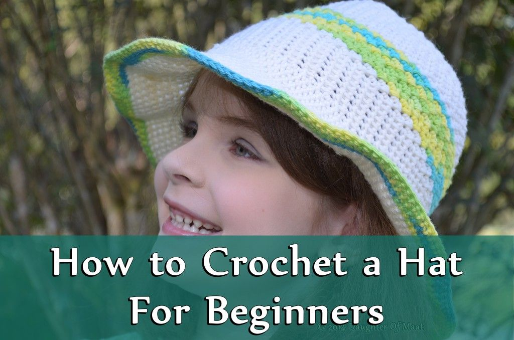 A hat is one of the easiest ways to learn the art of crochet. Learn how to crochet a hat step by step as well as some of the basics of the art of crochet with pictures and video!