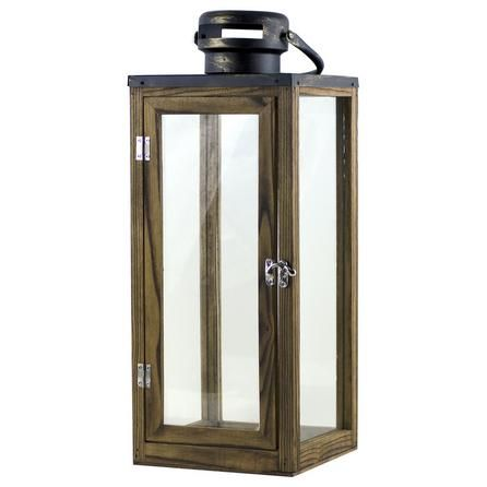 Rustic Ramble Collection Wooden Lantern | Dunelm | Stuff I want to ...