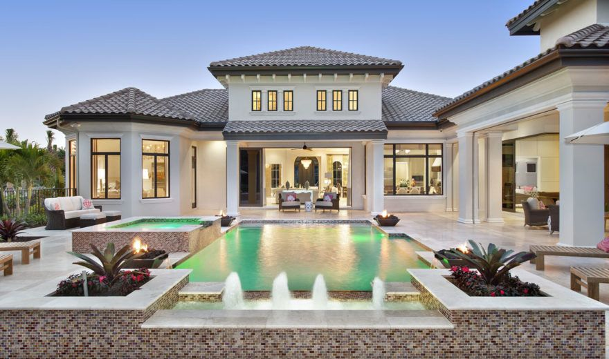 Mezzano House Plan | Mediterranean house plan, Luxury ...