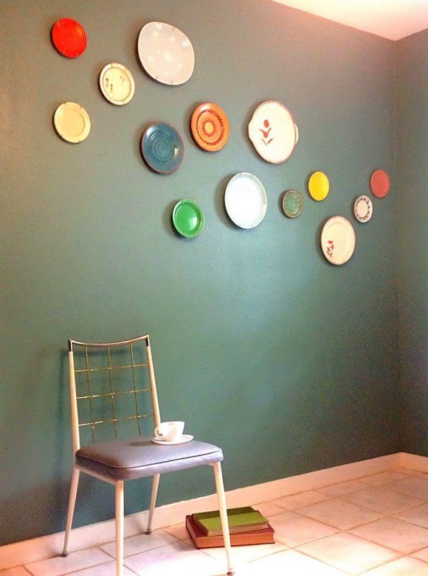 make your own plate wall art azul home pinterest plate wall
