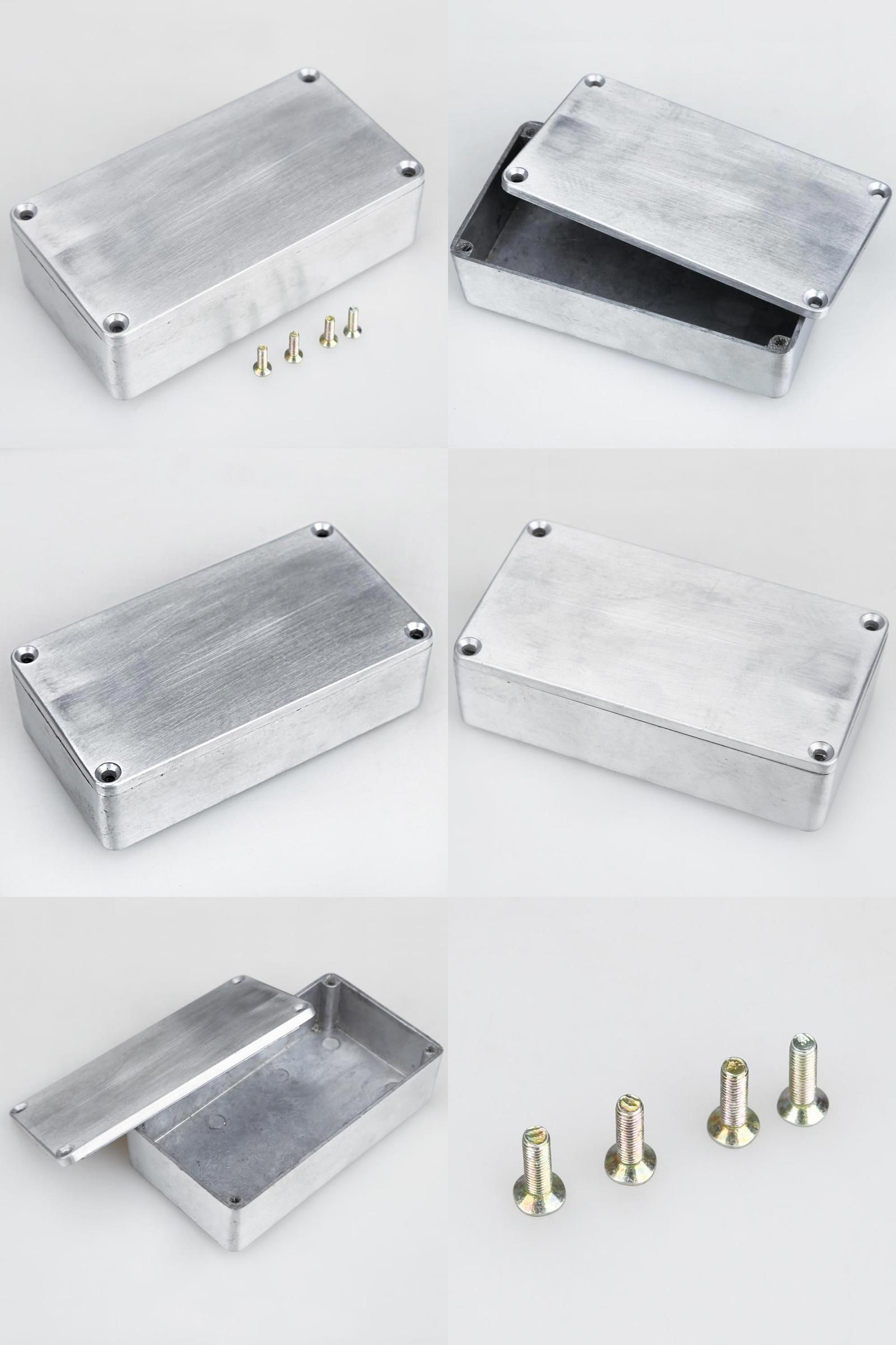 3df1f3f223 [Visit to Buy] New Design 1590B Style Effects Pedal Aluminum Stomp Box  Enclosure for
