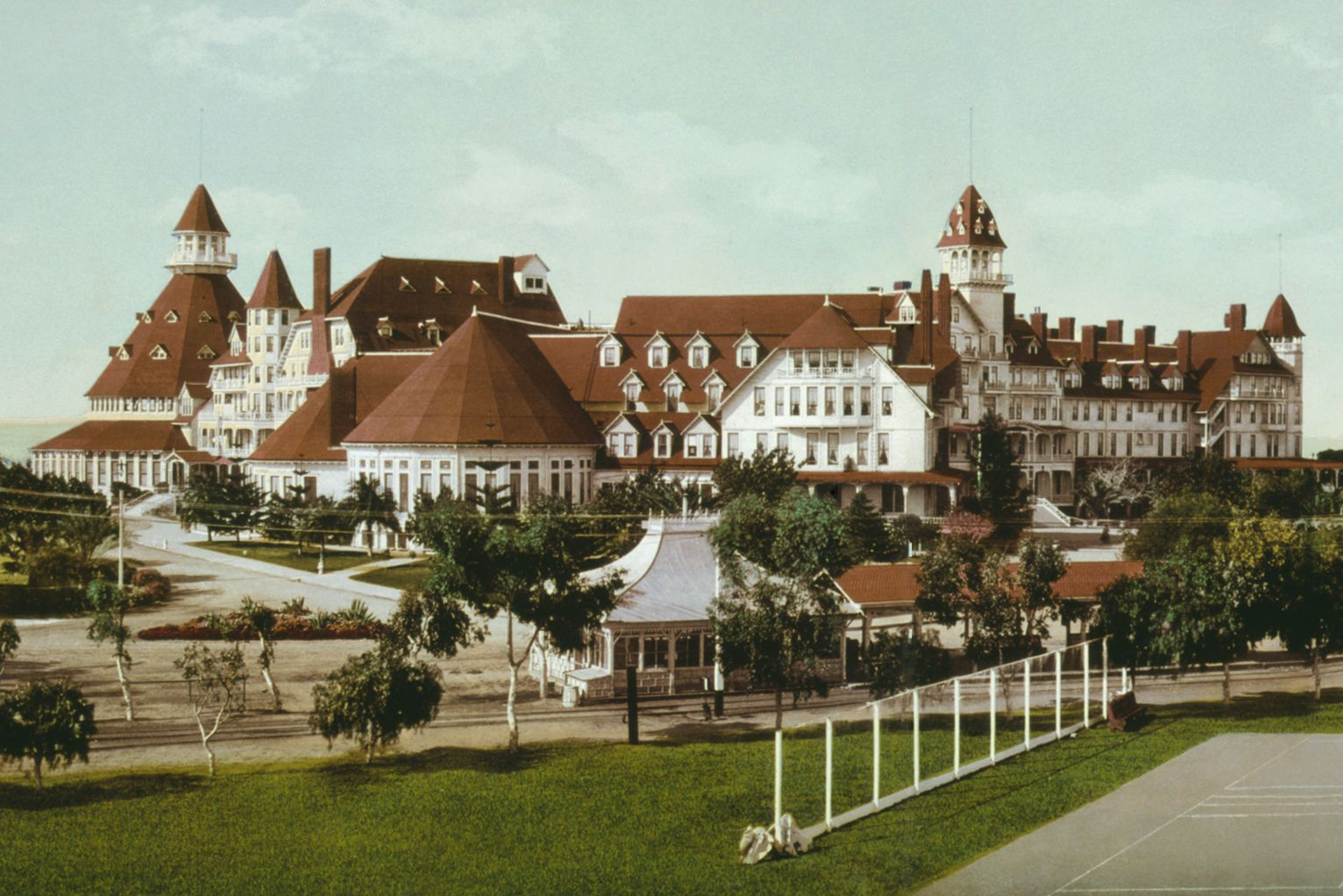 Hotel Del Coronado San Go Ca Oldest And Largest All Wood You