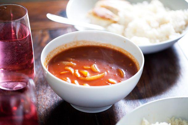 Piazaw – onion soup