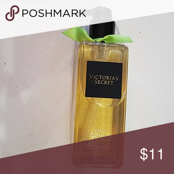 Victoria's secret body oil Victoria's secret lime blossom body oil. New with original packaging.  Never used. 8.4 ounce. Victoria's Secret Other