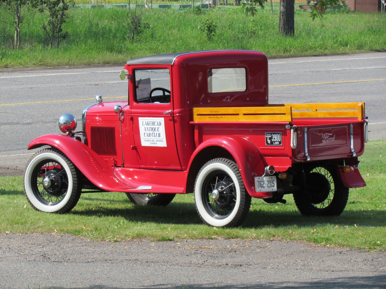 All Red Ford Trucks 1931 Ford Model A Truck 1931 Antique