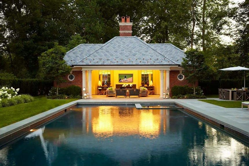 70 Pool House Designs To Thrill Your Outdoor Party Outdoor Pool Pool House Designs Backyard Pool
