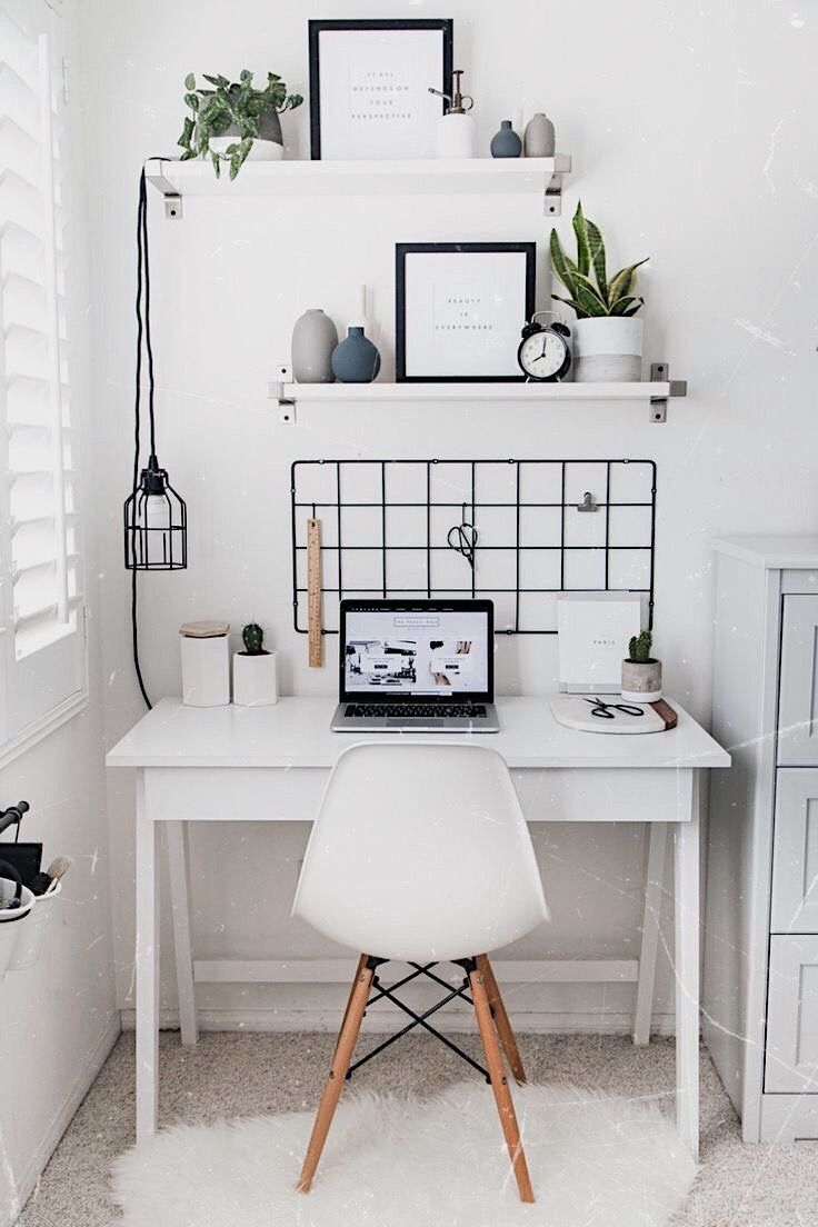 minimal desk  m i n i m a l h o m e  Room Decor Bedroom