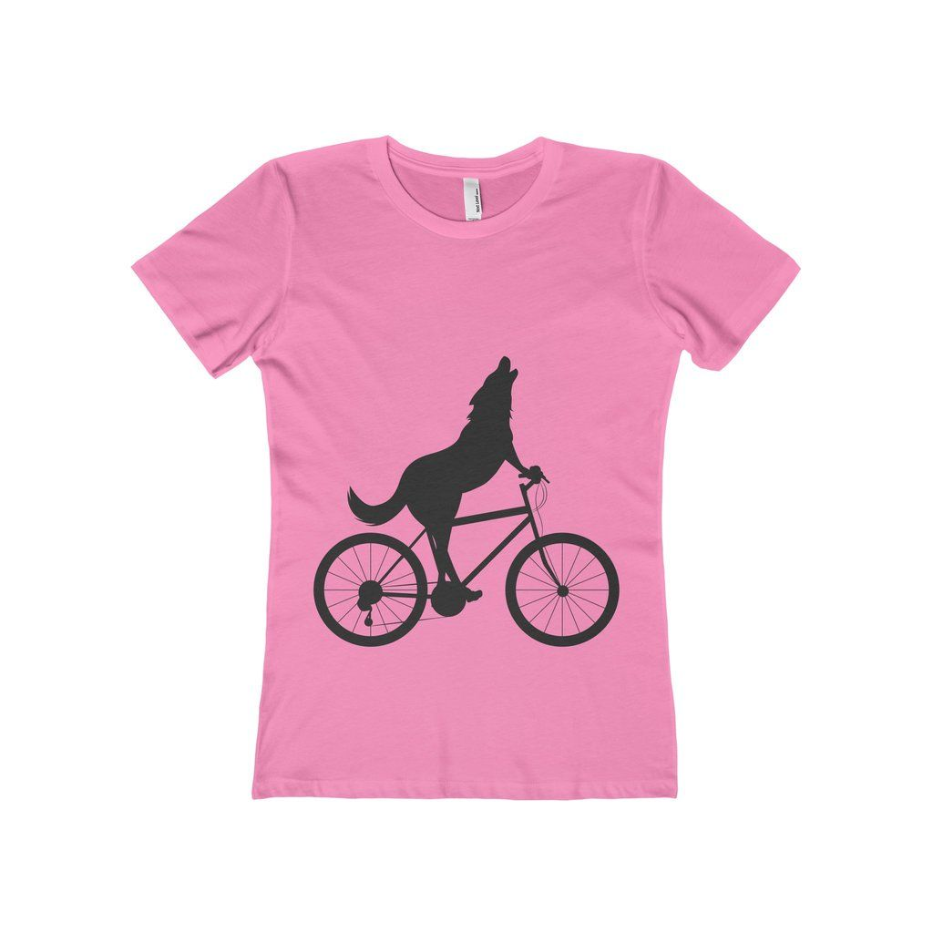 Wold riding bicycle women shirt custom design gifts pinterest