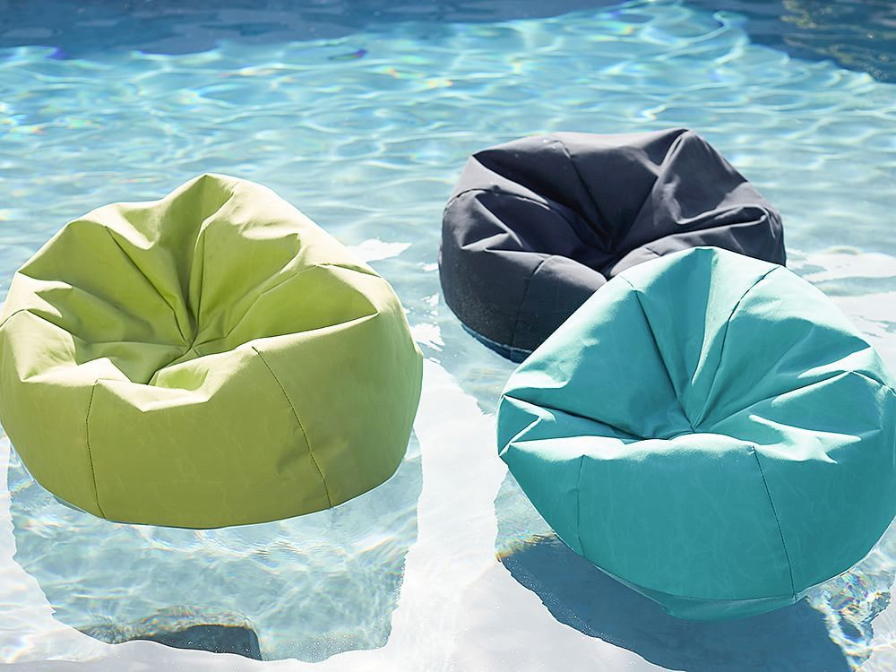 Pottery Barn Is Selling Bean Bag Pool Floats For Your