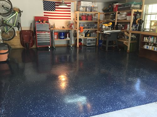 Diy Garage Floor Upgrade Avec Images Idees Pour La Maison Maison Cabanon