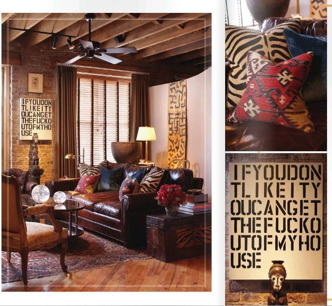 african inspired living room interior design | Home Interior ...