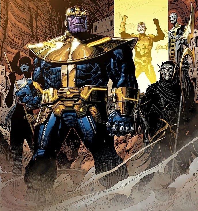 Thanos & the Black Order