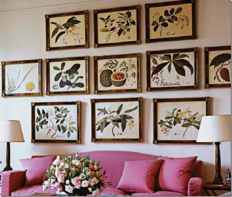Up Close View Of The Botanicals In Lee S Paris Apartment