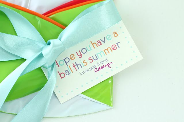 end of school year classmate gift ideas  with free printable gift tags {& they're less than $1 each!}