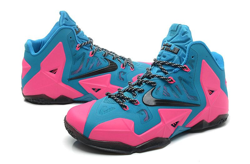 best sneakers 3f610 15b72 LeBron 11 ID Turquoise Pink Flash Black