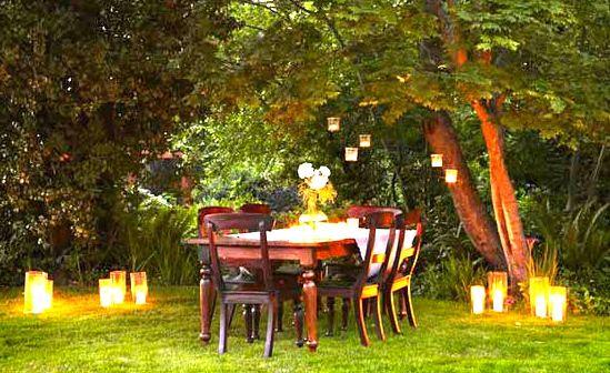 outdoor dinner party party decor ideas Pinterest Outdoor