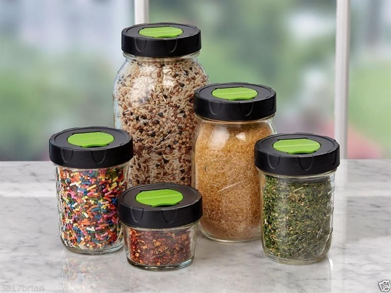 There are also shaker lids that quickly convert your jar to an easy container for dry condiments like chili flakes or Parmesan cheese. I use this shaker to boost nutrition as it's filled with a mix of hemp hearts, chia seeds, buckwheat groats, and sesame seeds that I shake onto soups, salads, and cereals