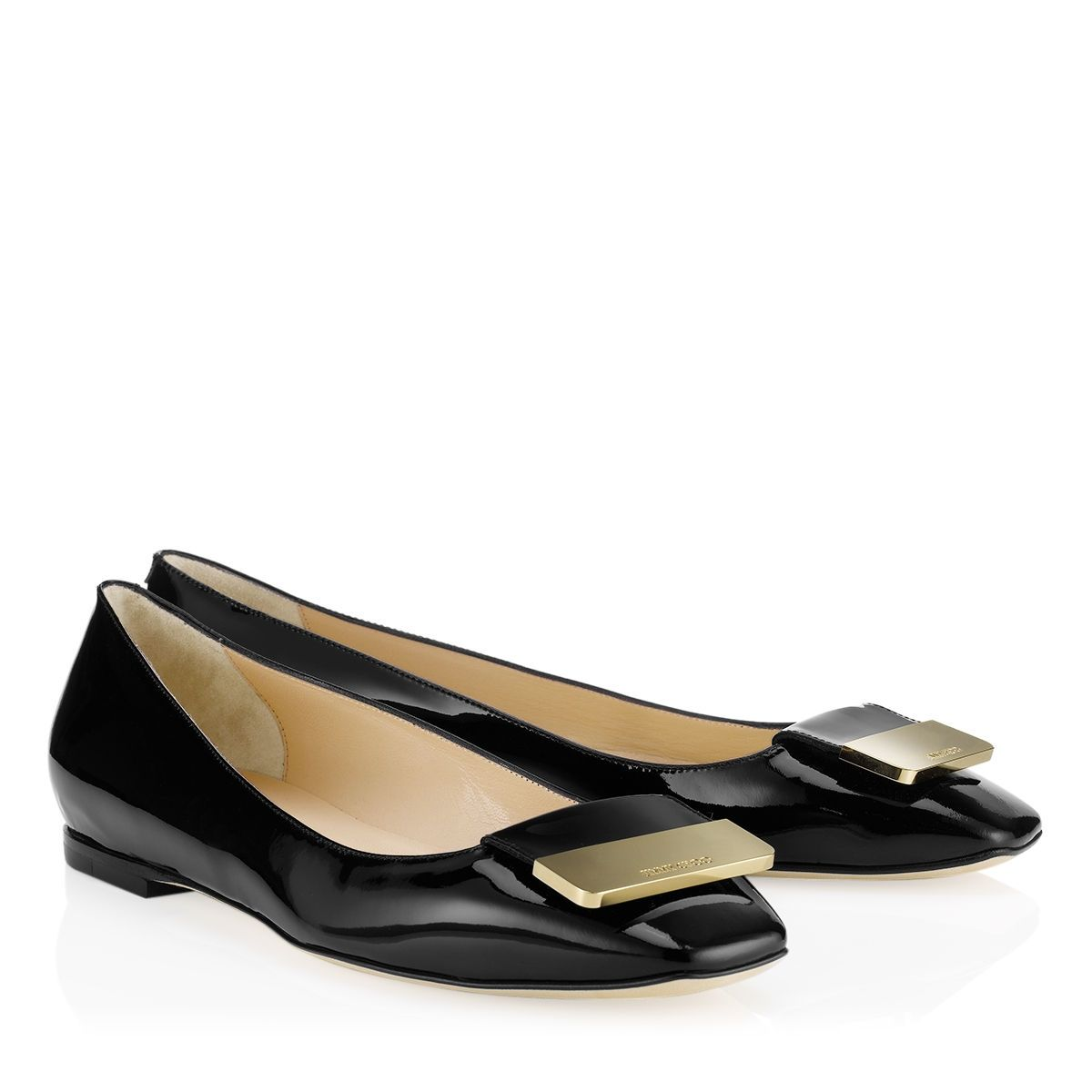Jimmy Choo Leather Square-Toe Pumps pictures for sale yiqax