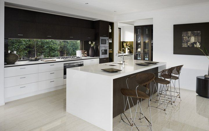 Glendale modern house plans new home designs metricon for Modern kitchen designs melbourne
