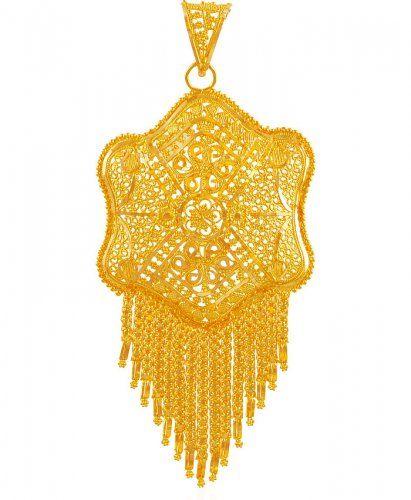 22k gold filigree big pendant aspe60902 us 1201 22kt gold 22k gold filigree big pendant aspe60902 us 1201 22kt gold fancy filigree mozeypictures Images