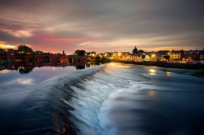 The River Nith, Dumfries, Scotland.