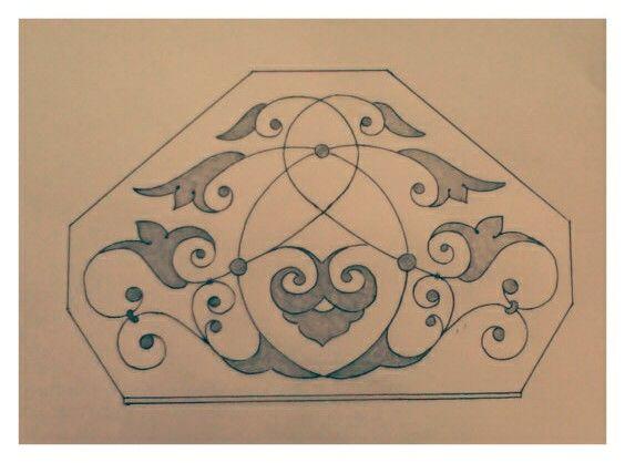 تدريب على رسم الزخرفة Art Arabic Calligraphy Calligraphy