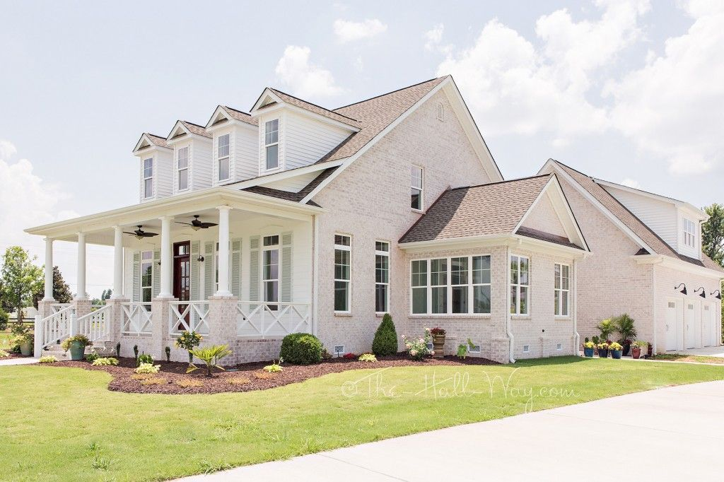 Southern Living Eastover Cottage The Exterior Sw Extra White Sea Salt Coastal
