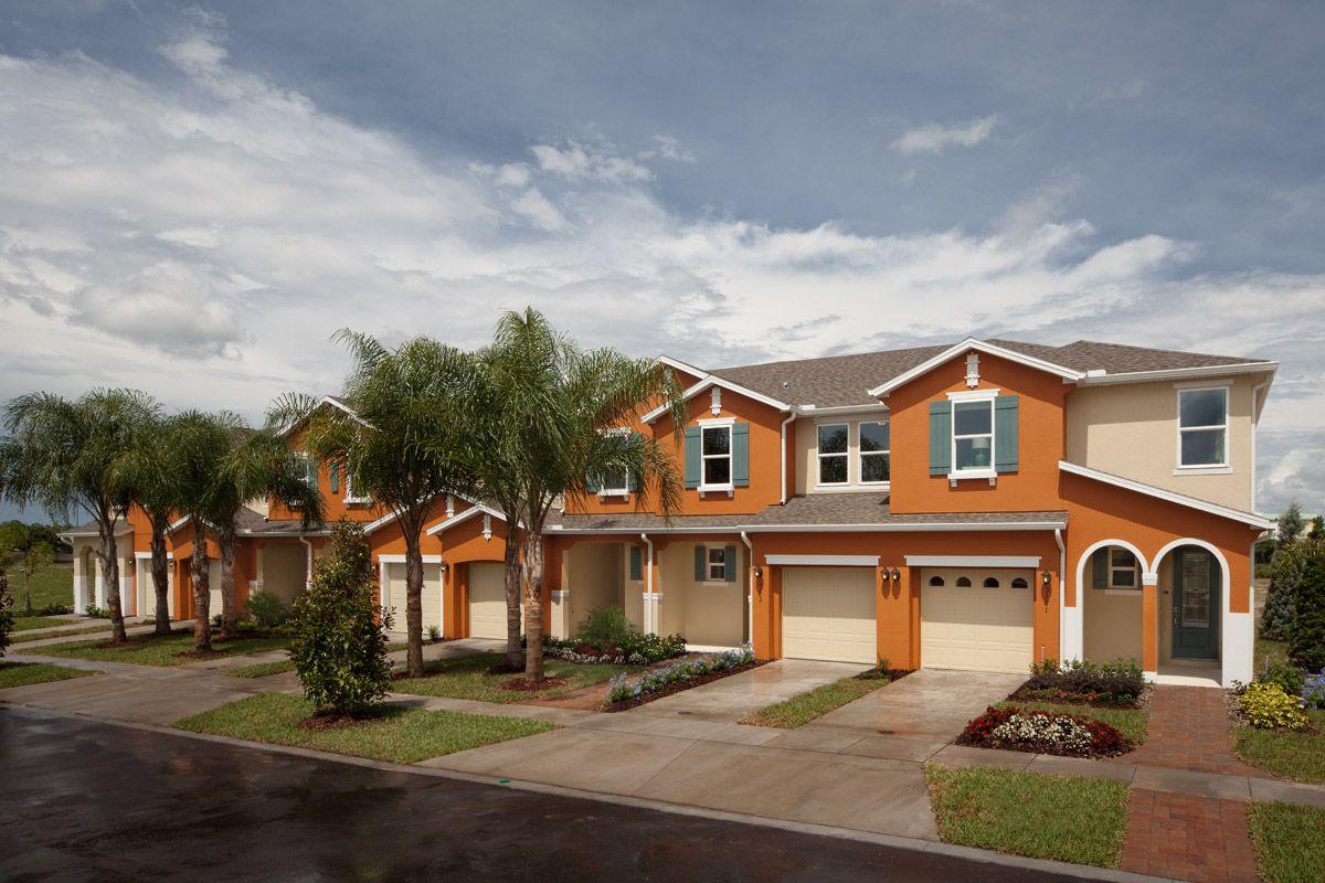 Compass Bay Townhomes, a KB Home Community in Kissimmee