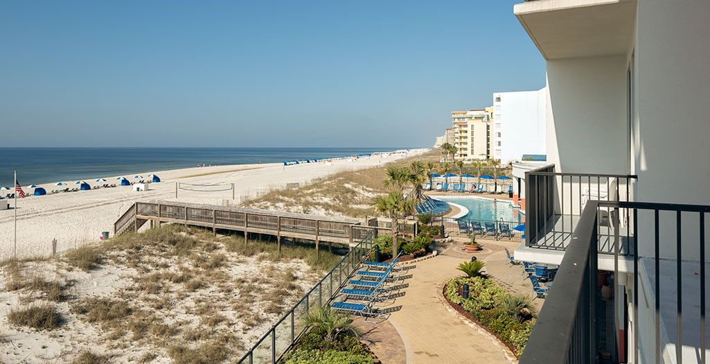 Hampton Inn Suites Beachfront Hotel Located In Orange Beach Gulf