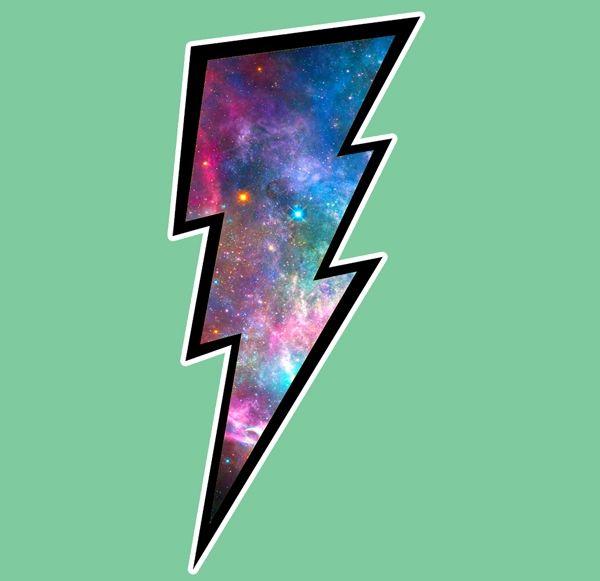 lightning bolt galaxy.jpg 600×581 pixels | Lightning tattoo