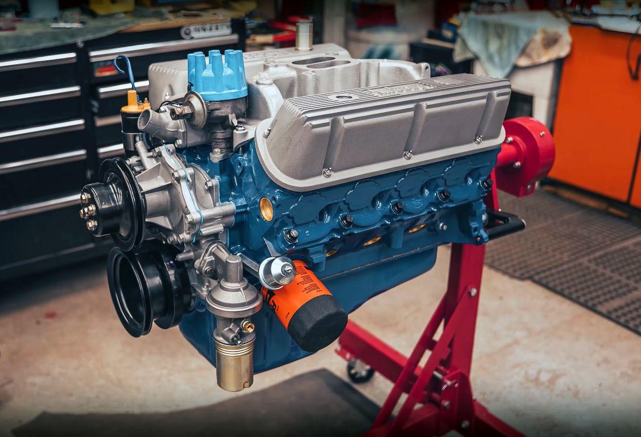 Time-Lapse Ford 289 Windsor V8 Engine Rebuild - ENJOY