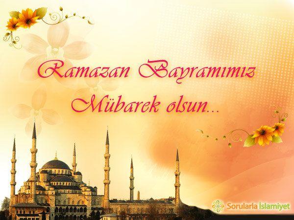 Bayraminiz Mubarek Ramazan Mesajlar Kartlar