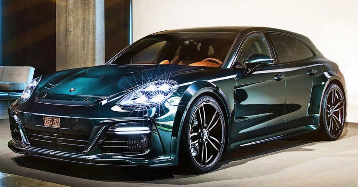 Porsche Panamera Turbo by TechArt Gets Power, Visual