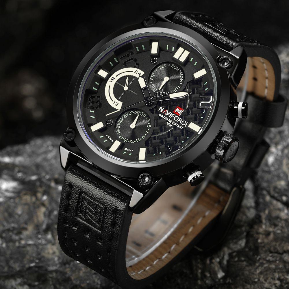 687c90a0abe ... Casual Men Military Wrist Watch NAVIFORCE Analog Quartz Luxury Brand  Sports Watches relogio masculino · Relógio À Prova D águaRelógios  EsportivosMarca ...