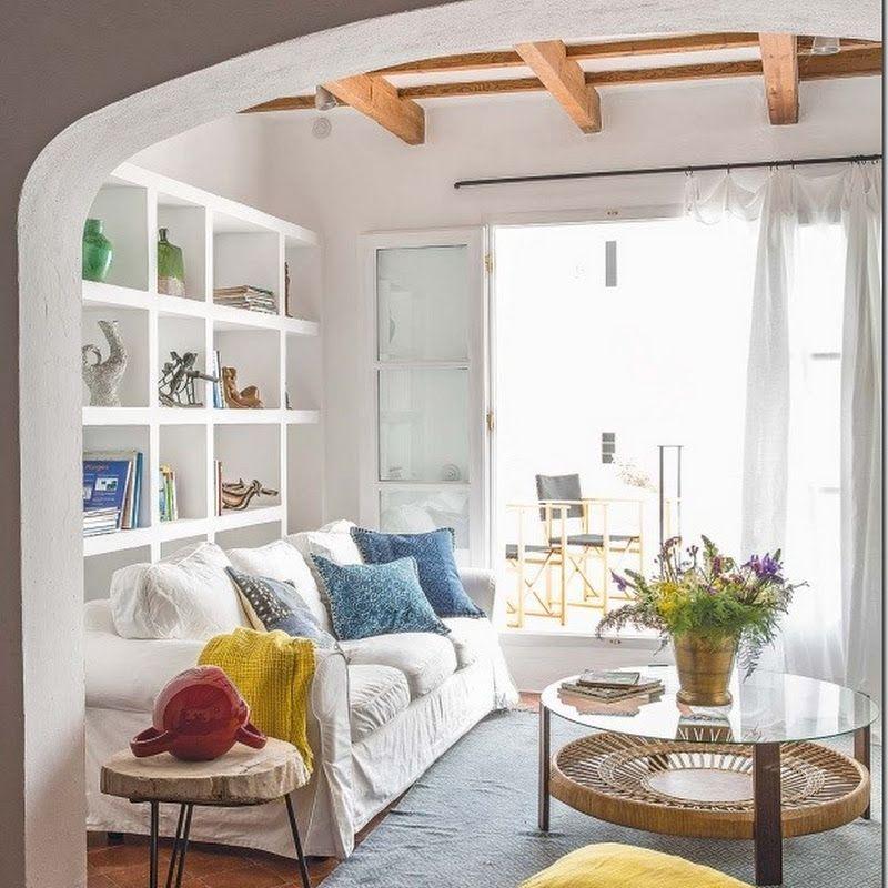 Case e interni turchese chic per la casa al mare for Interni di case