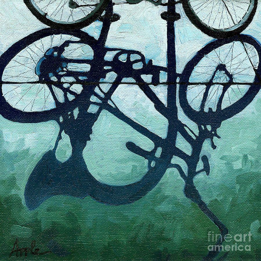 Linda Apple, Dusk Shadows - Painting