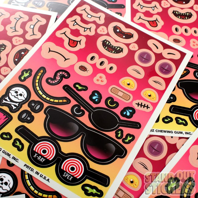 Pin On Sticker Sheets Kiss Cut Sticker Sheets Custom Stickers