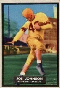1951 Topps #68 Joe Johnson Front
